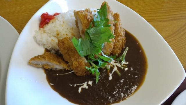 春日井市役所の展望レストランオガッシ食堂さんのカツカレー
