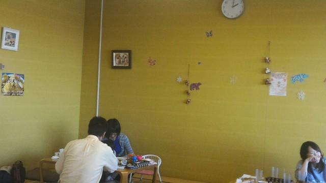 春日井市役所の展望レストランの座敷