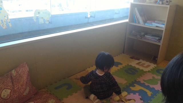 春日井市役所の展望レストランの座敷の子供スペース