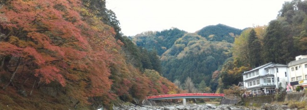 香嵐渓でもみじ狩り・おすすめ観光散策コースは1時間で(愛知県豊田市)