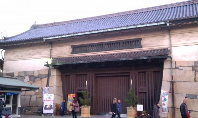 名古屋城正門前2014年正月