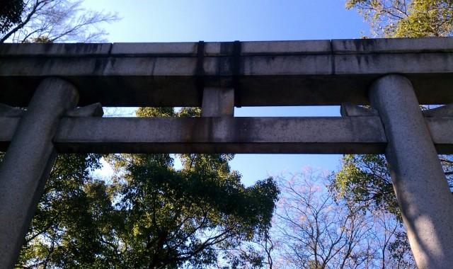 大阪城大鳥居