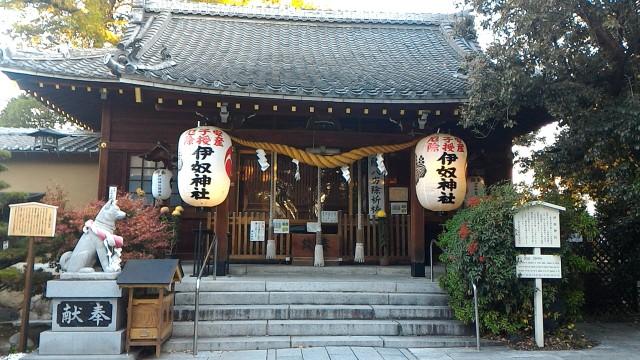 伊奴神社(名古屋市西区)の本殿