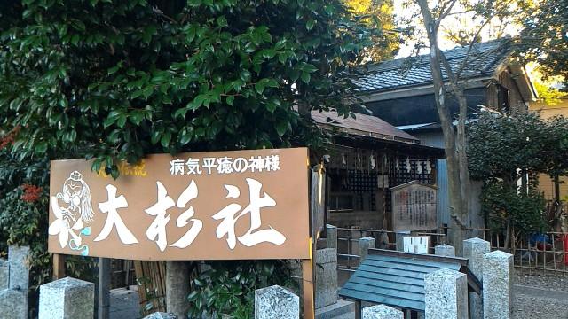 伊奴神社(名古屋市西区)の大杉社