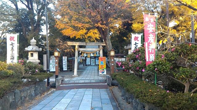 伊奴神社(名古屋市西区)の参道