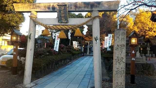 伊奴神社(名古屋市西区)の大鳥居
