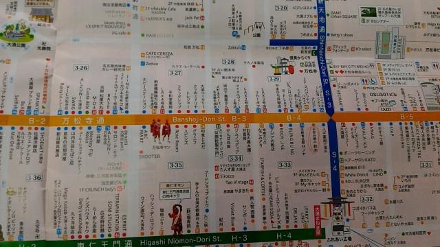 大須商店街地図
