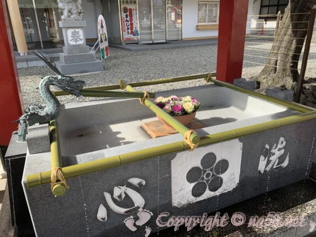 上野天満宮(名古屋市千種区)手水舎