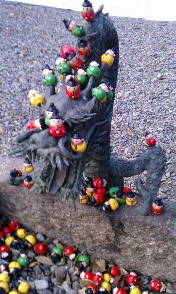 上野天満宮(名古屋市千種区)の菅原道真を模した「天神みくじ」