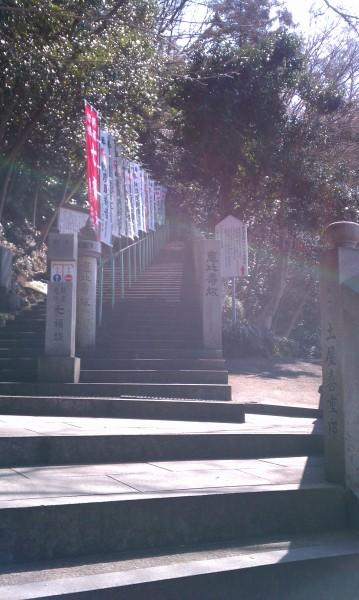 愛知県犬山市寂光院の七福神坂のはじまり