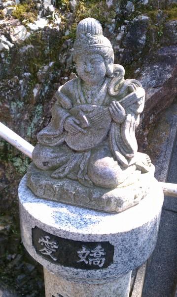 「寂光院」の300階段で出会う七福神様・信長も見た絶景の展望(愛知県犬山市)