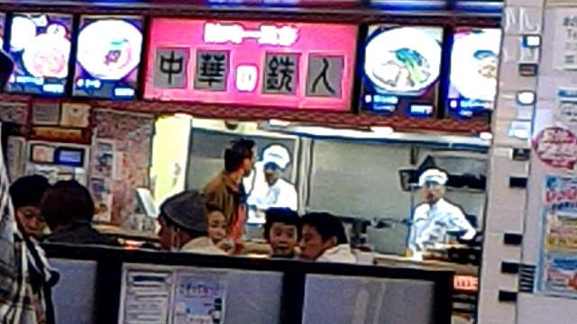 新東名上り浜松サービスエリア「中華の鉄人」