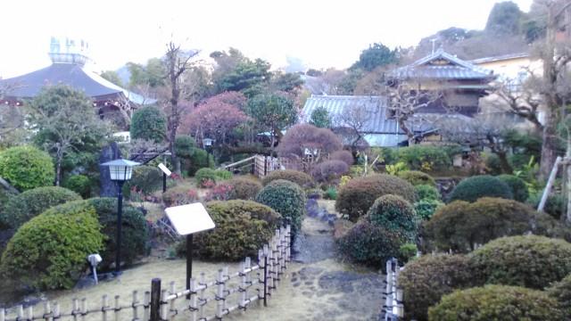 坪内逍遥双柿舎の庭にある離れと書屋