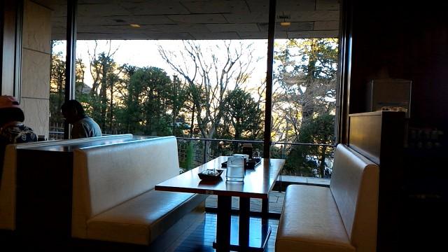 MOA美術館のレストラン「桃山」の店内と景色