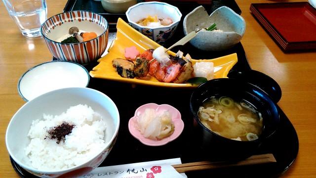 MOA美術館のレストラン「桃山」のランチ・桃山御膳