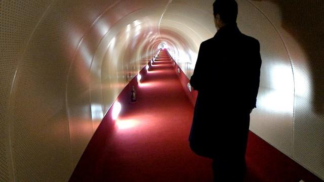 MOA美術館から水晶殿への幻想的な通路