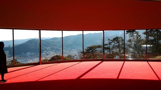 MOA美術館からつながる水晶殿からの絶景