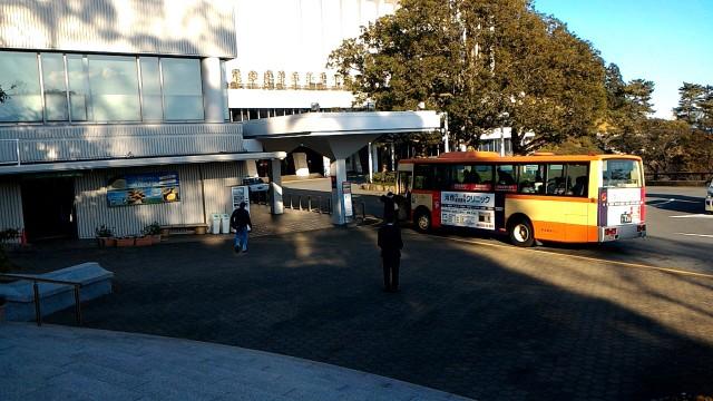 MOA美術館入り口のバス停