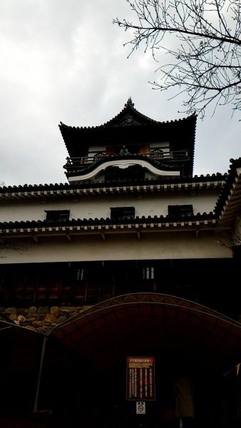 国宝犬山城(愛知県犬山市)