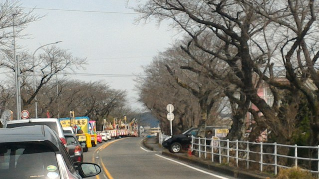 愛知県犬山市大県神社(姫の宮神社)豊年まつりパレード