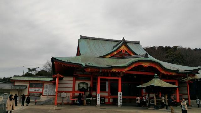 犬山成田山(愛知県犬山市)の本堂