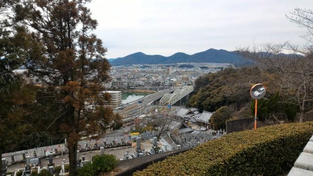 犬山成田山(愛知県犬山市)からの素晴らしい景色