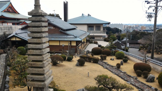 犬山成田山(愛知県犬山市)にある茶室
