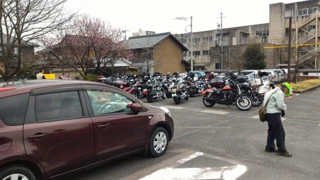 愛知県犬山市「国宝犬山城」の第一駐車場