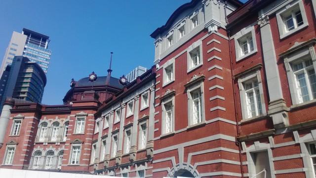 東京駅の北方向