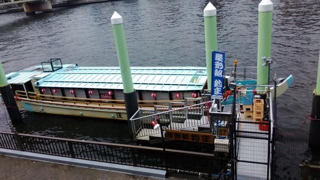隅田川(東京都)の屋形船船着場