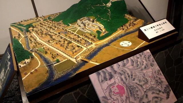 郡上八幡城の模型
