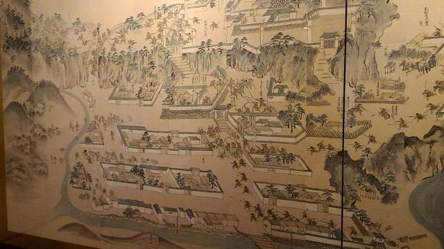 郡上八幡城周辺の昔の地図