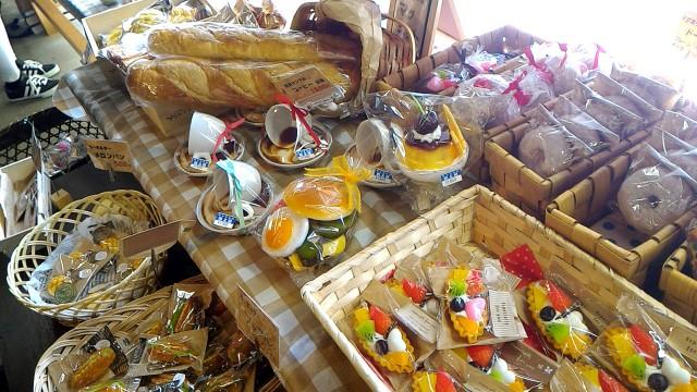 岐阜県郡上市サンプル工房の触れ安スパン洋菓子などの食品サンプル