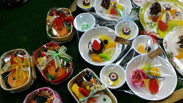 岐阜県郡上市サンプル工房のお弁当のサンプル