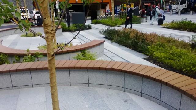 名古屋駅前大名古屋ビルヂング1階北側のパーク