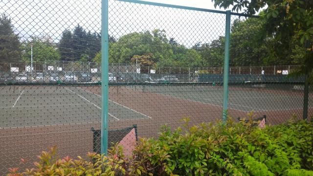 千種公園(名古屋市千種区)テニスコート