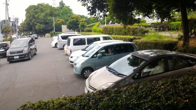 荒子川公園(名古屋市港区)の無料駐車場
