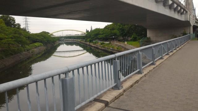 荒子川公園(名古屋市港区)荒子川