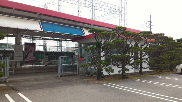 空港バッティングセンター(愛知県豊山町)の外観