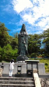 集仙院(大滝観音)岐阜県恵那市の12メートルの観音像