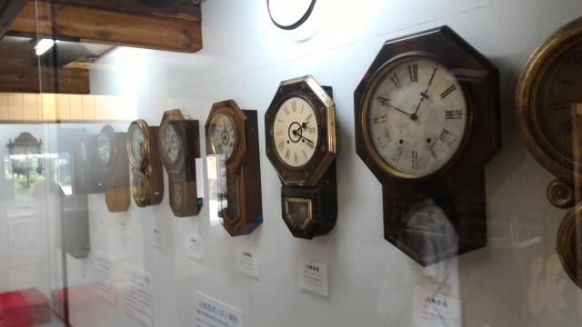 「日本大正村」(岐阜県恵那市明知町)の大正時代の掛け時計