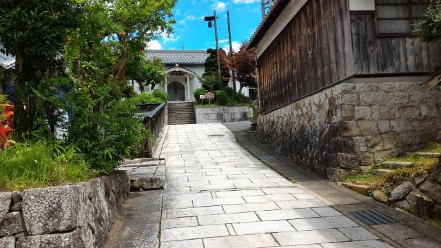 「日本大正村」(岐阜県恵那市明知町)の路地