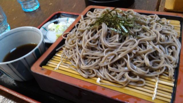 日本大正村(岐阜県恵那市)隣接の食事処「大簗」さんのざるそば
