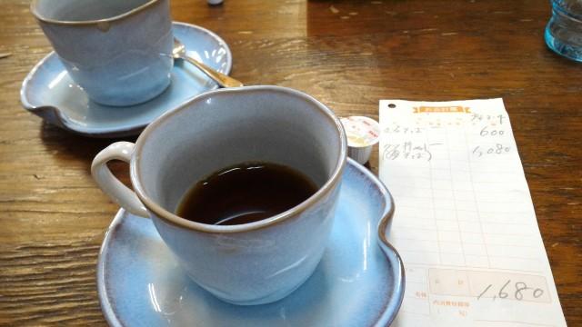日本大正村(岐阜県恵那市)隣接の食事処「大簗」さんのセルフドリンクコーヒー