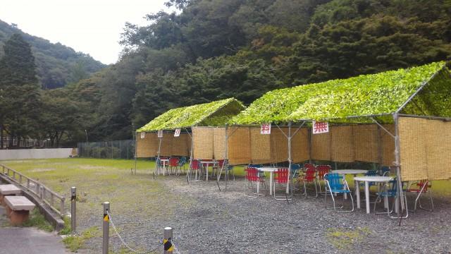 岩屋堂公園(愛知県瀬戸市)水遊びの無料休憩所