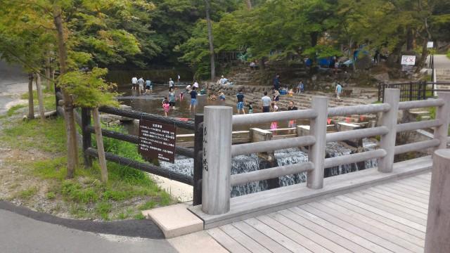 岩屋堂公園(愛知瀬戸市)水(川)遊び天然プール