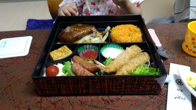 熱海温泉旅館立花のお子様用夕食