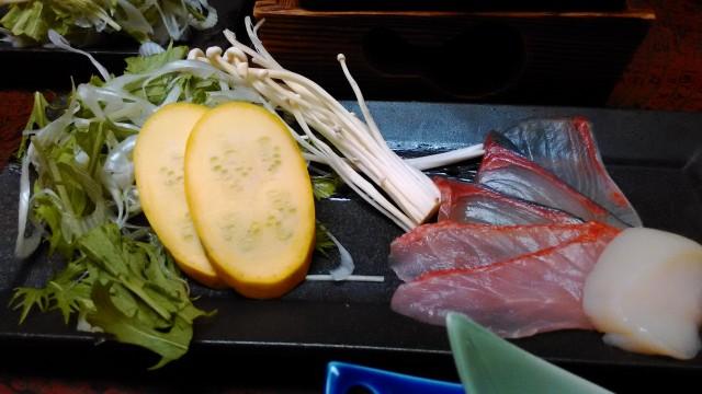 熱海温泉旅館立花の鯛めしプランの料理の鍋物