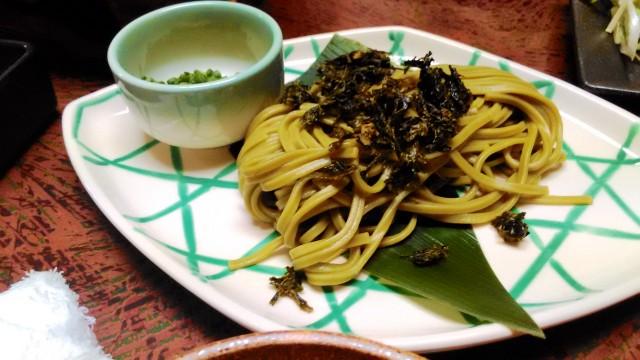 熱海温泉旅館立花の鯛めしプランの料理うどん