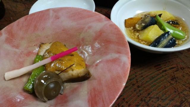 熱海温泉旅館立花の鯛めしプランの料理